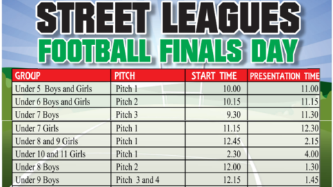 Douglas GAA and LGFA Street Leagues Football Finals Day